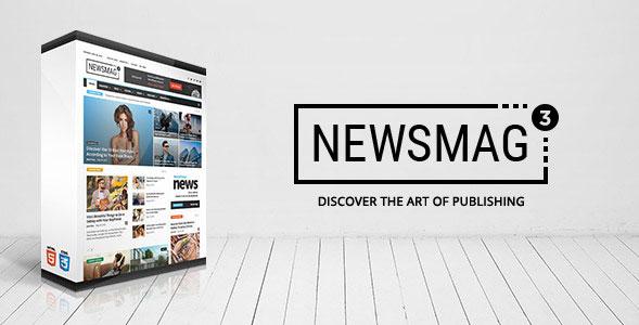 Newsmag - 뉴스/매거진/신문 워드프레스 테마