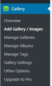 nextgen-gallery-menu