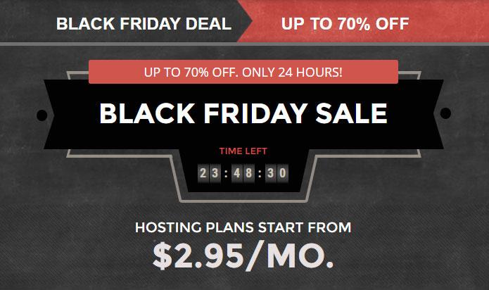 [해외 웹호스팅] SiteGround – 블랙프라이데이 맞이 70% 할인 행사
