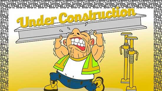 工事中のページ