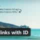 bbPress Permalinks with ID