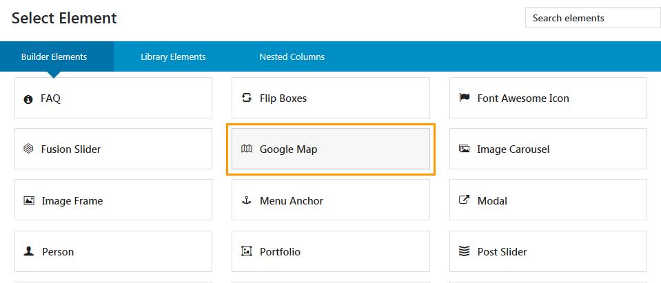 아바다 테마에 구글 지도(Google Map) 추가