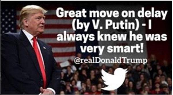 트럼프가 푸틴을 칭찬하는 이유