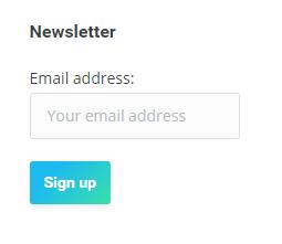 ワードプレスニュースレターに登録フォームウィジェット