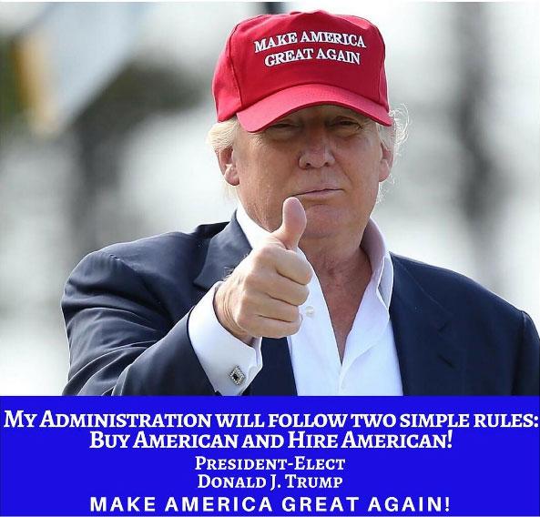 트럼프 행정부의 단순한 두 가지 규칙
