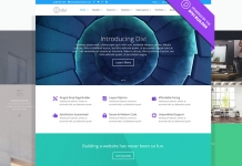 WordPress Elegant Themes Diviテーマ