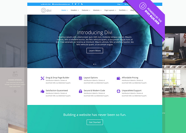 WordPress Elegant Themes Diviテーマ