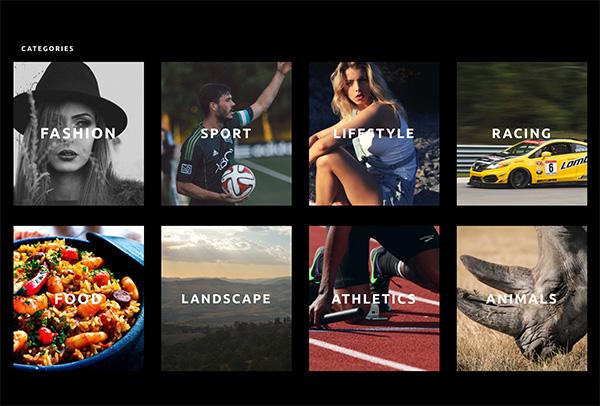 무료 Photography Homepage Divi 레이아웃 팩 공개