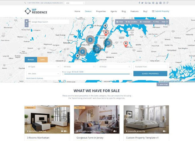 Best Real Estate WordPress Themes 2017