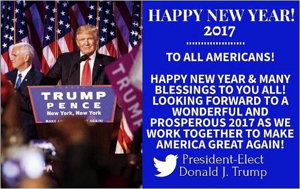 트럼프의 새해 인사말 II