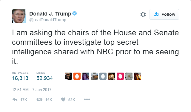 트럼프 트위터