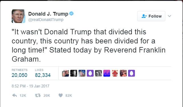 미국을 분열시킨 것은 트럼프가 아니다?