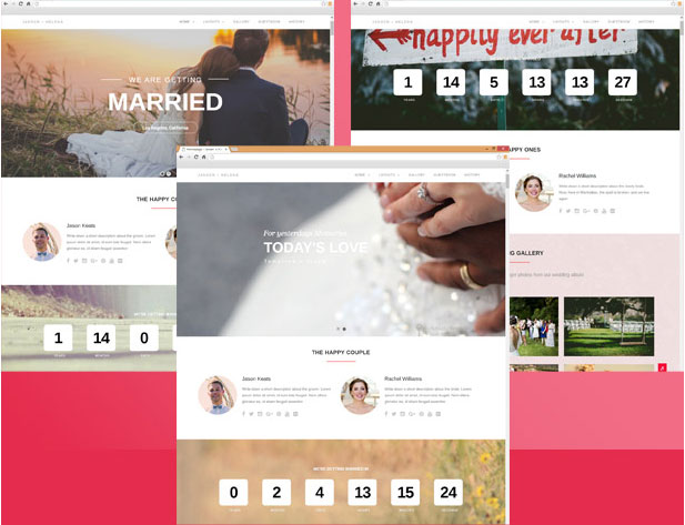 Best Wedding WordPress Themes 2017