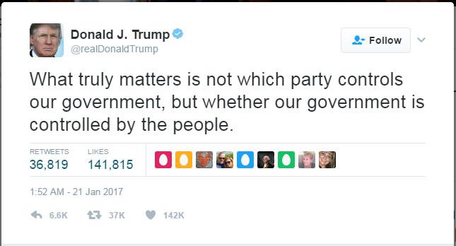 트럼프, 진정 중요한 것은…