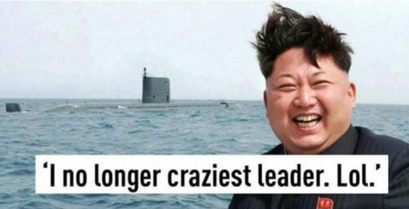 최악의 미치광이 지도자
