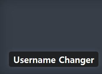 워드프레스에서 사용자명(Username) 변경하기
