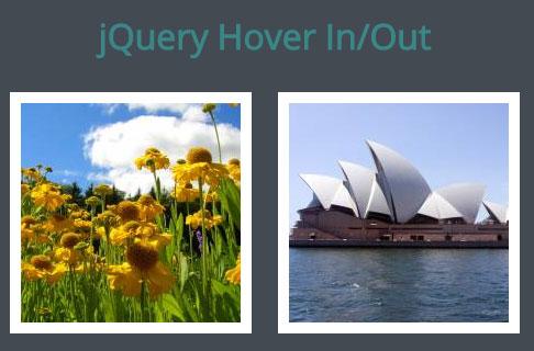 jQuery를 사용한 기본적인 이미지 롤오버(Rollover) 효과