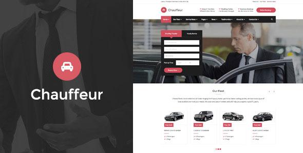Chauffeur – 워드프레스용 차량 대여 렌트카 테마