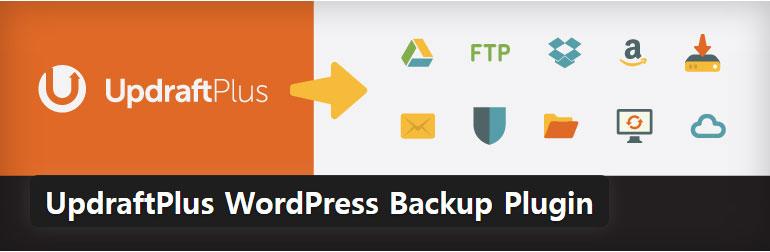 WordPress バックアップ/復元のプラグイン -  UpdraftPlus WordPress Backup Plugin