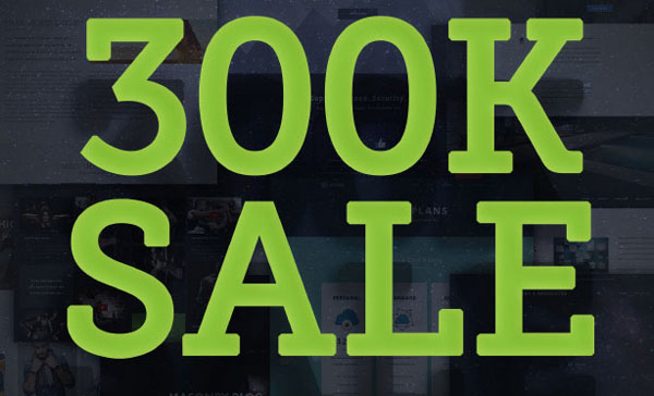 30만 카피 판매 기념 아바다(Avada) 테마 할인 판매