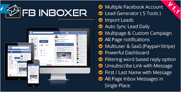 Facebook メッセンジャーマーケティングソフトウェア