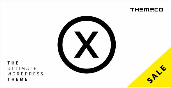 인기 워드프레스 테마 X Theme 40% 할인 판매