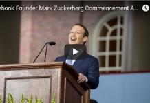マーク・ザッカーバーグ、ハーバード大学の2017卒業式の祝辞