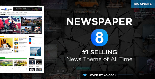 Newspaper adopted a new page builder in the latest update