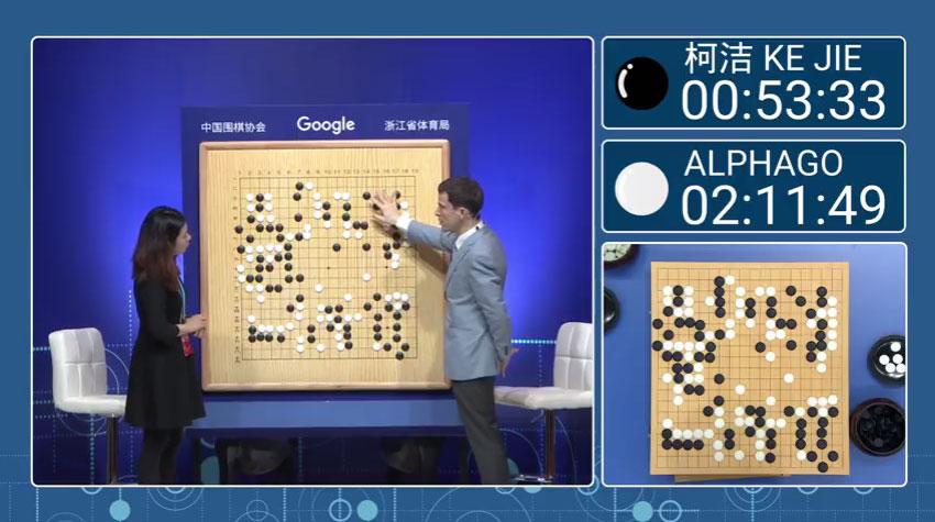アルファとのコジェの囲碁対決