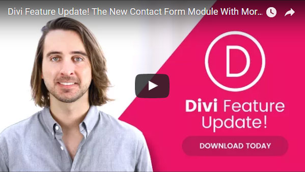 Divi 기능 업데이트: Contact Form 모듈에 더 많은 입력 옵션과 조건부 로직, 필드 유효성검사 추가
