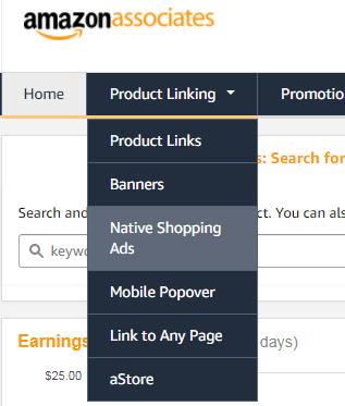 アマゾンネイティブ広告