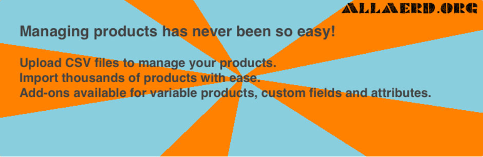 WooCommerce 商品インポートプラグイン