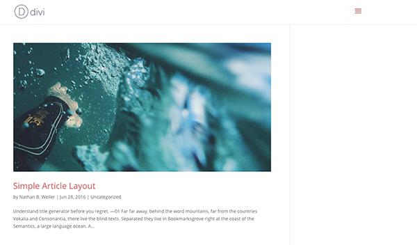 Diviアーカイブページのレイアウトをポートフォリオスタイルで表示する方法4