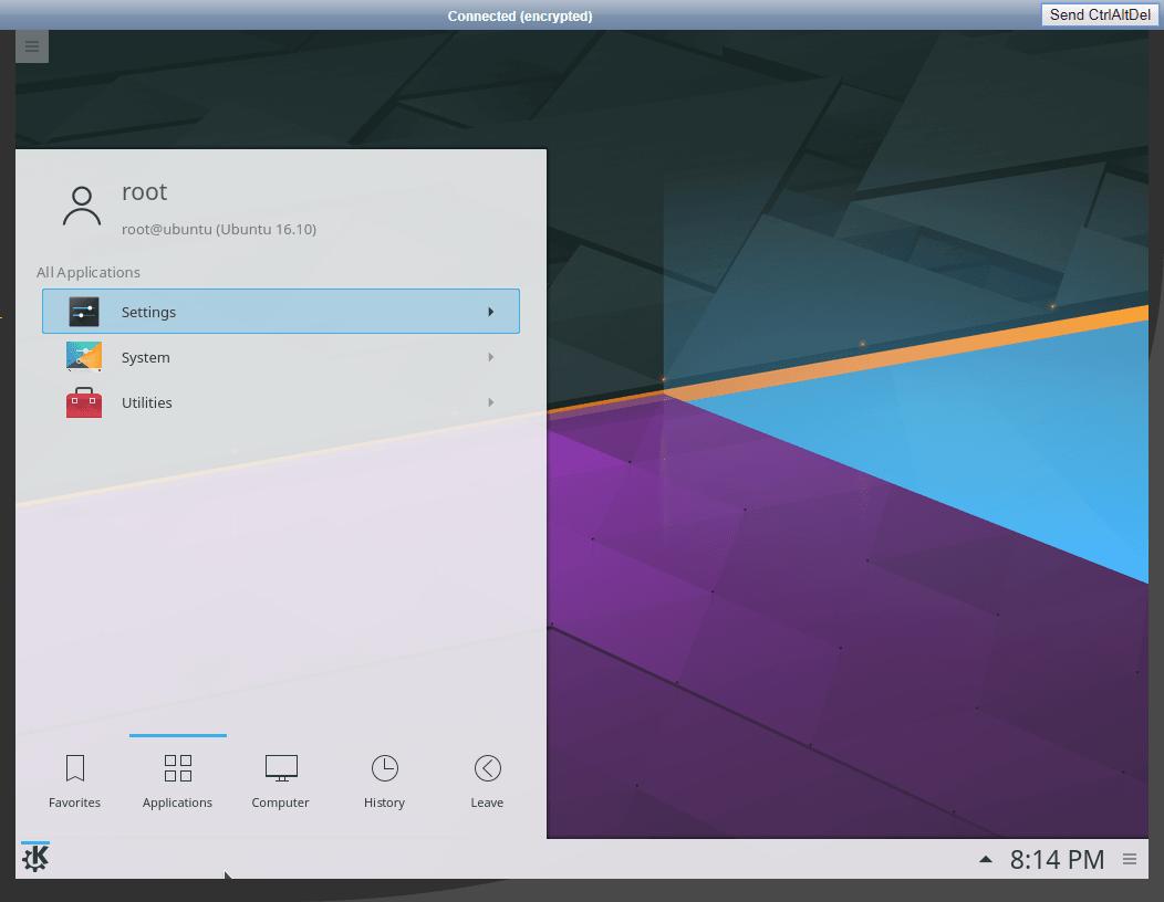 KDE Linux compressor - Ubuntu/CentOS에서 Gnome/KDE (GUI) 설치하기