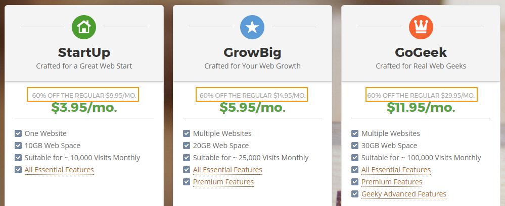 Siteground - 해외 웹호스팅을 저렴하게 이용하는 방법: 기간이 만료되면 다른 곳으로 갈아타야 하는 이유