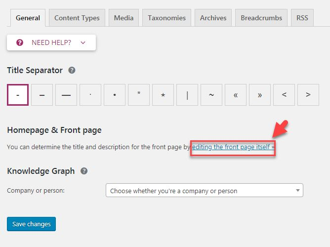 WordPress サイトのタイトルを変更する