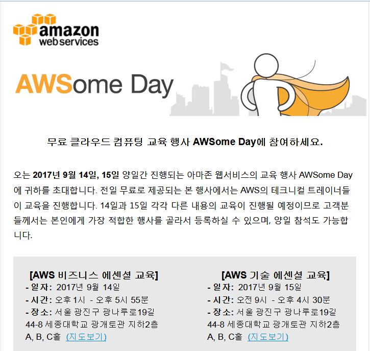 AWSome Day training compressor  -  AWSクラウドの無料トレーニングイベント -  AWSome Day