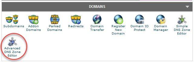 ネームサーバ情報の変更やAレコードを変更違い3