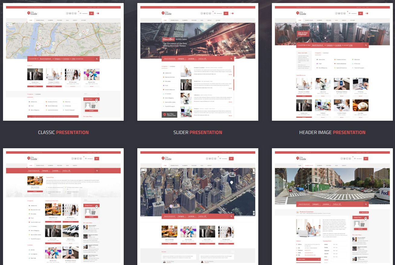 City Guide compressor - ListingPro - 업체 목록 디렉터리 워드프레스 테마