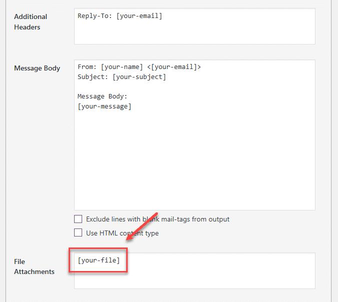 Contact Form attachment compressor - 워드프레스 Contact Form 7에서 파일 업로드/첨부 기능 추가하기