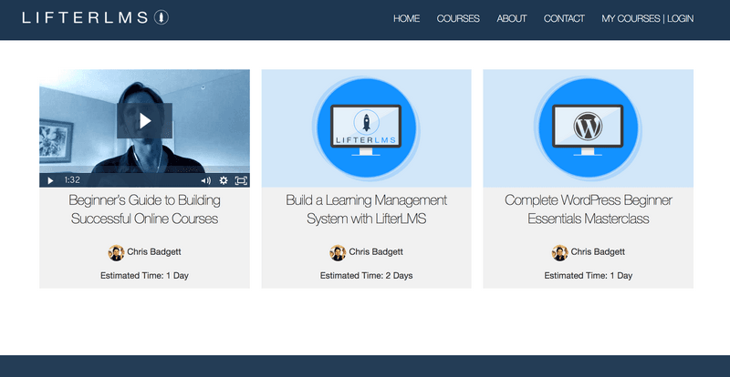WordPress LMS(学習管理システム)のプラグインLifterLMSスクリーンショット16