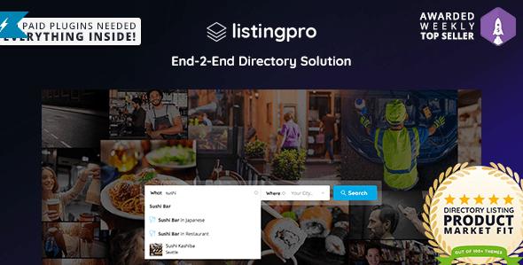 ListingPro compressor - ListingPro - 업체 목록 디렉터리 워드프레스 테마