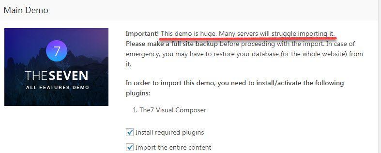 Sitegroundから WordPress デモのインストール時にエラーが出る場合は、3