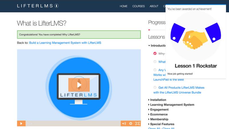 WordPress LMS(学習管理システム)のプラグインLifterLMSスクリーンショット20