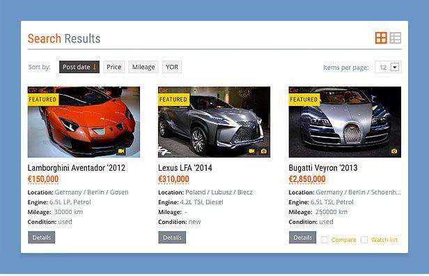 car dealer wordpress theme filtering compressor  -  Car Dealer Automotive  - カーディーラー、自動車のワードプレスのテーマ