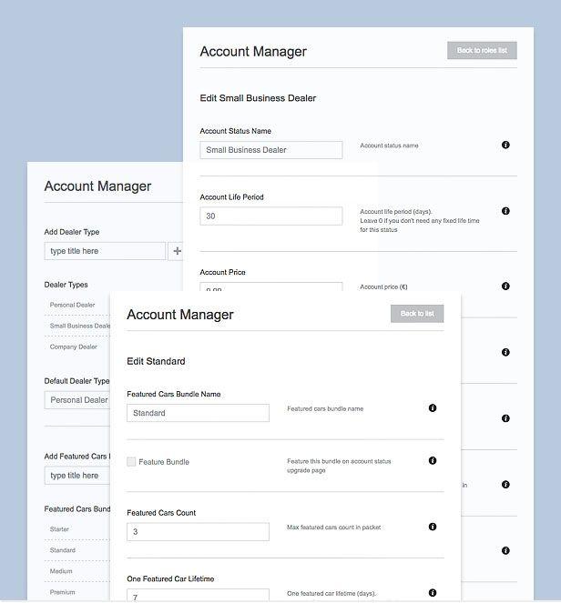 car theme account manager compressor  -  Car Dealer Automotive  - カーディーラー、自動車のワードプレスのテーマ
