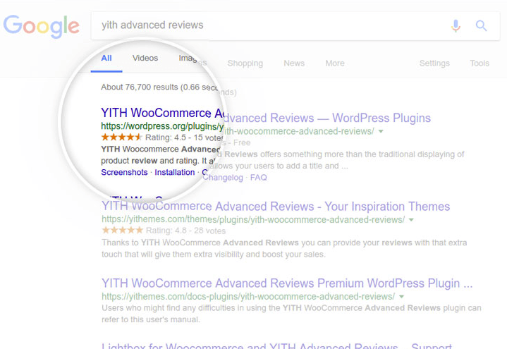 WordPress WooCommerce レビュープラグイン -  YITH WooCommerce Advanced Reviews 4