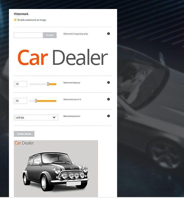 wordpress car template image branding compressor  -  Car Dealer Automotive  - カーディーラー、自動車のワードプレスのテーマ