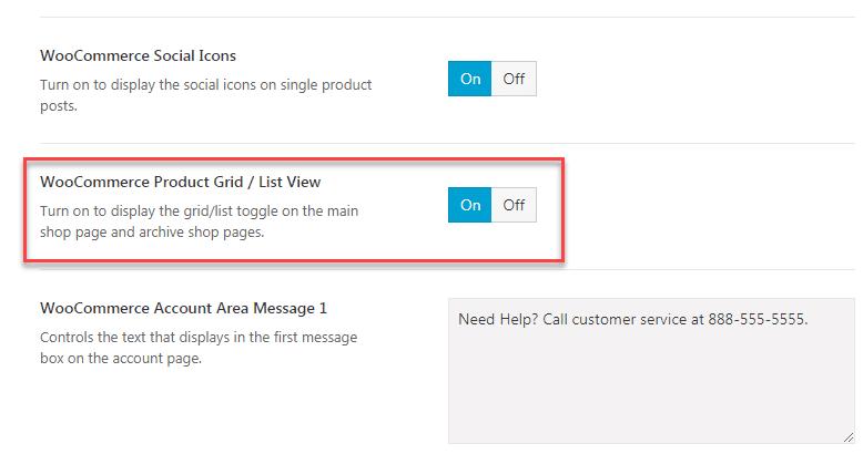 WooCommerceで商品をグリッド/リスト形式でリストする3