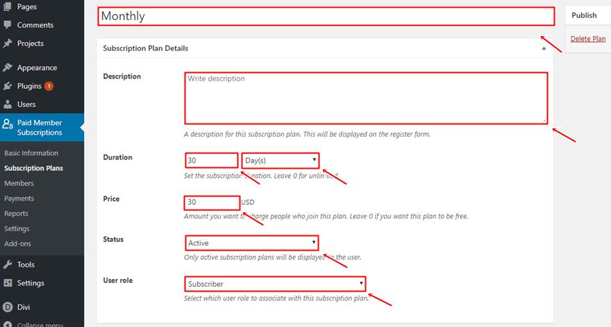 無料Diviレイアウトパックを利用する:メンバーシップを追加する方法35